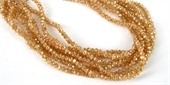 Chinese Crystal 4x3mm 140 beads Caramel-chinese crystal-Beadthemup