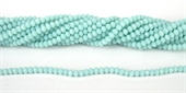 Chinese Crystal 4x3mm 140 beads Light Aqua-chinese crystal-Beadthemup