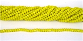 Chinese Crystal 4x3mm 140 beads Yellow-chinese crystal-Beadthemup