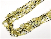 Vermeil, Lemon Quartz & Pearl 1m necklac-necklaces-Beadthemup