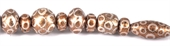 Glass Bead Mix Brown 22cm strand 17Beads-glass beads-Beadthemup