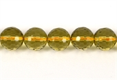 Citrine Faceted Round 12mm EACH-gemstone beads-Beadthemup