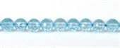 Blue Topaz Faceted Round 6mm EACH-blue topaz-Beadthemup