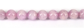Kunzite 3A+ Polished Round 12mm EACH-kunzite-Beadthemup